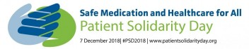 Logo for Patient Solidarity Day 2018