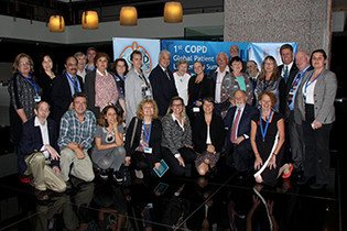 Vanessa Smith: Attending the 1st COPD Global Patient Leadership Summit
